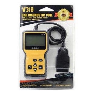 Image 5 - V310 OBDII EOBD Auto Code Reader 6 Languages Automobile Diagnostic Scanner For All OBD2 OBDII Protocols Cars LCD Display
