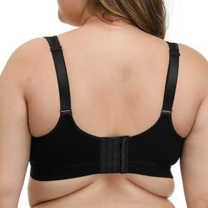 Image 2 - Biustonosze dla kobiet bielizna biustonosz w dużym rozmiarze Plus rozmiar pełny kubek biustonosz wsparcie Bralette bielizna Bh Top dla otyłych ludzi