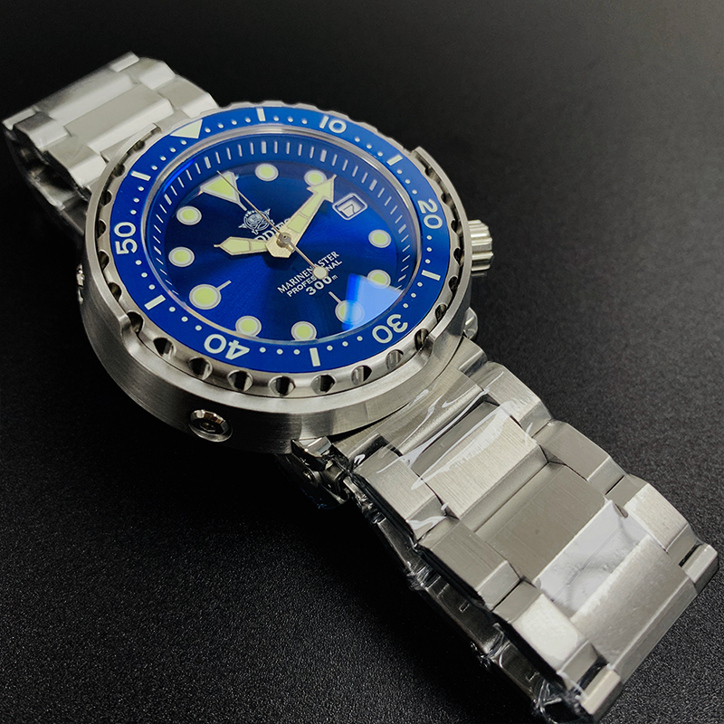 Canned Tuna Dive Watch Super Luminous NH35 Automatic Watch Man Mechanical Watch 300M Diver Watches Sapphire Crystal image