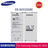 SAMSUNG Original Telefon Batterie EB-BA510ABE 2900mAh Für Samsung Galaxy A5 2016 A510 A510F A5100 A510M A510FD A510K A510S