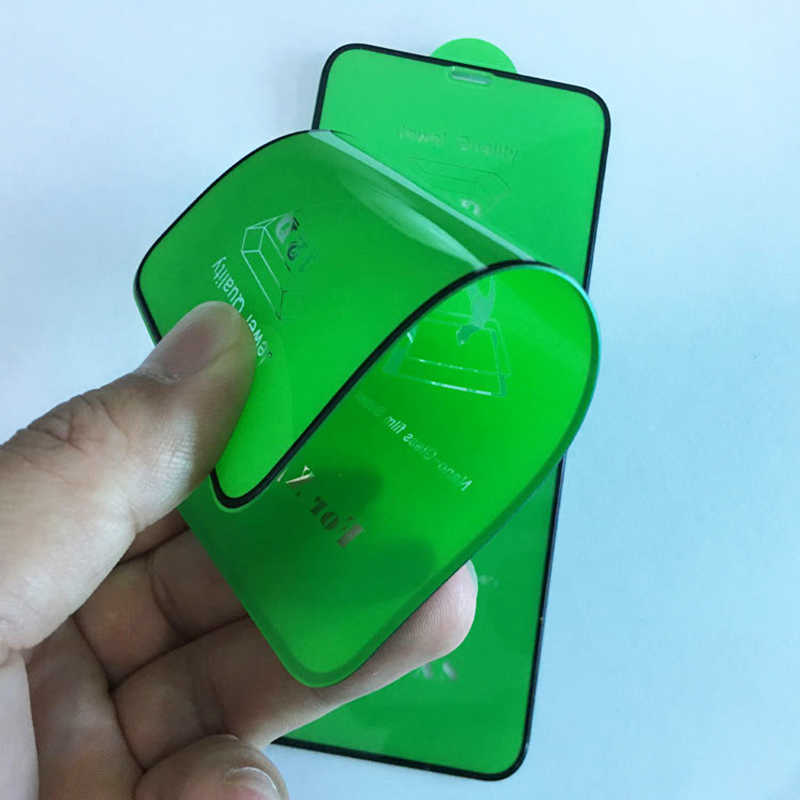 Penutup Penuh Keramik Kaca Pelindung Layar untuk Xiaomi Redmi Note 8 MI 9T 9SE Bermain CC9E A3 A2 9 SE 10 6 Lite Pro Pelindung Layar