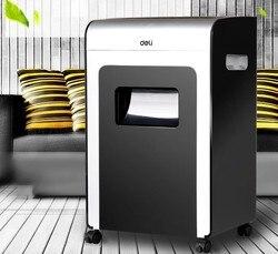 Paper Shredder Deli 9913 Electric Ion Net Paper Shredder Household/Office High-Power Granule Mute-type