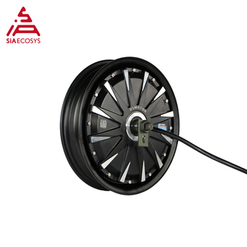 QS Motor 13*3.5inch 5000W 260 V4 hot sale BLDC outer rotor motor in-wheel hub motor for ectric scooter