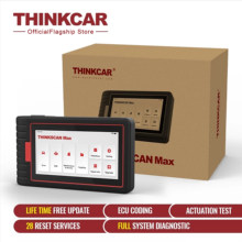 THINKSCAN MAX Car Active Test 28 Reset ECU Coding All System Auto Scanner Diagnostic Tool OBD2 Code Reader PK Launch crp909e