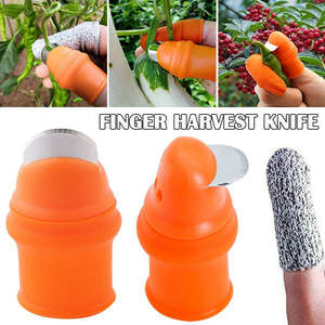 Finger-Tool Blade Thumb-Cutter Picker-Separator Tomato Harvesting Vegetables Fruit Garden-Plant