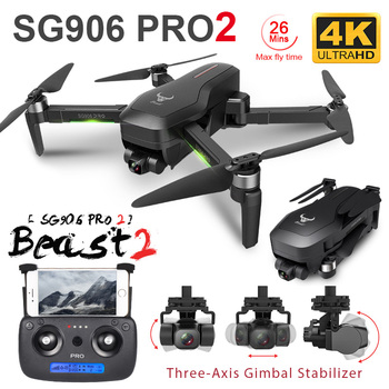 ZLRC Beast SG906 Pro 2 Brushless Motor with 3-Axis Gimbal GPS 5G WIFI FPV Professional 4K Camera RC Drone Quadcopter Dron PRO2 1