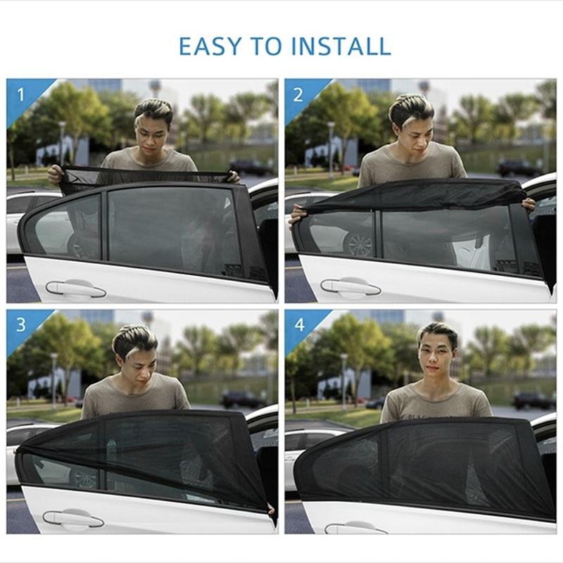 Car Window Sun Shade Curtain