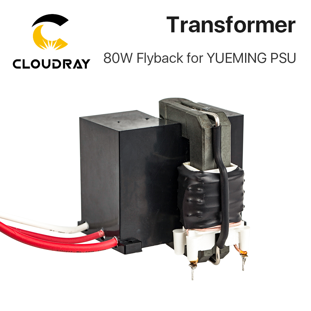Cloudray High Voltage Flyback Transformer For YUEMING Co2 Laser Power Supply JG1500 JCY-1500