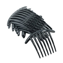 10pcs women girls plastic side clip hair comb french twist accessories