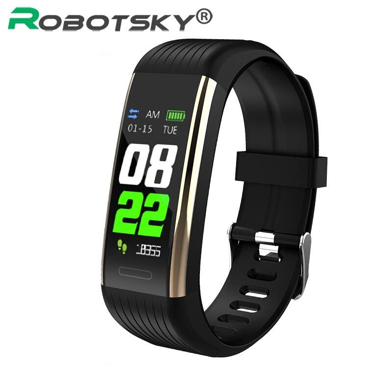 R1 смарт браслет, шагомер, пульсометр, кровяное давление, фитнес трекер, водонепроницаемые спортивные Смарт часы для мужчин и женщин, умный Браслет|Смарт-браслеты|   | АлиЭкспресс