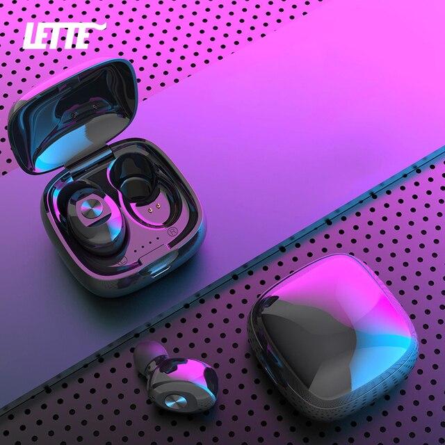 XG12 Bluetooth5.0 Headset TWS Binaural Stereo Earphones Wireless sSports Mobile Phone Universal