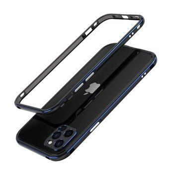 For iPhone 12 /12 Pro/12 Pro Max Mini /11 Pro Max 11 Aluminum metal bumper Frame Slim Cover phone case+ carmera Protector 10