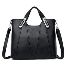جديد نساء جلد حقيبة يد فاخرة حقائب مصمم السيدات Crossbody حقائب اليد للنساء 2019 حقيبة عادية بولسا الأنثوية كيس الرئيسي