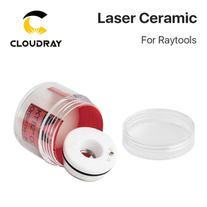 Image 2 - Cloudray Laser Ceramic 32mm/ 28.5mm OEM Raytools Lasermech Bodor Nozzle Holder For Fiber Laser Cutting Head