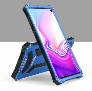 Image 3 - Armor 360 Volledige Bescherm Case Voor Samsung Galaxy Note10 Plus note 9 s10 Plus 5G Metal Aluminium case cover fundas Shockproof Coque