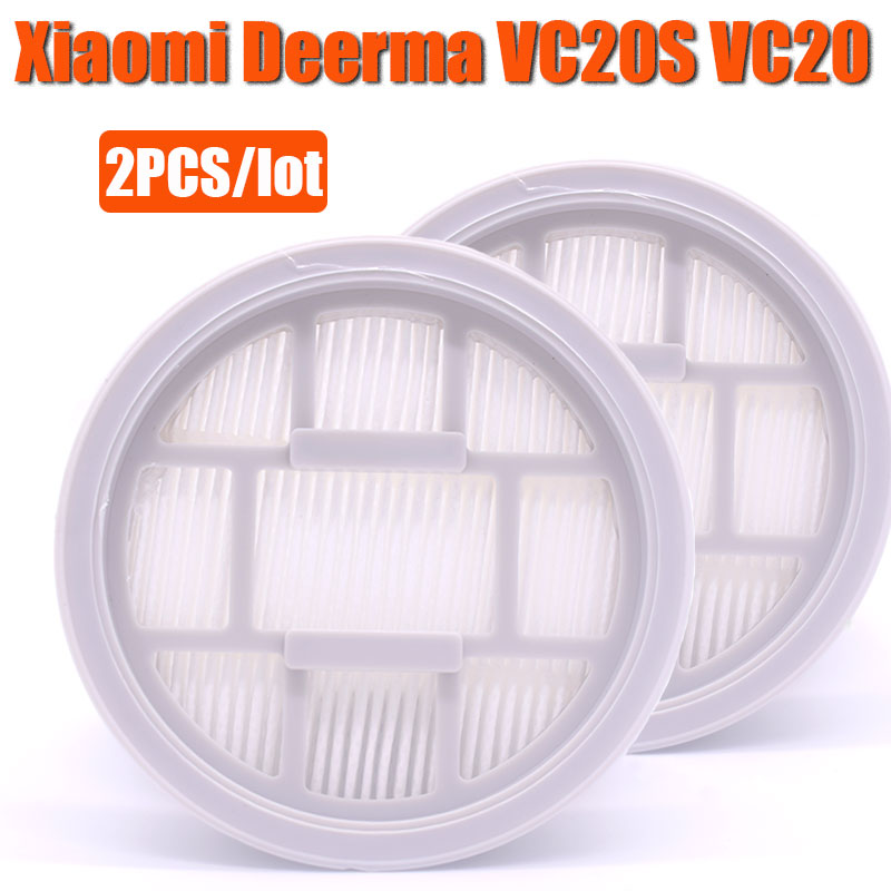 2 Piece VC20S VC20 Handle Vacuum Cleaner Hepa Filter For Xiaomi Deerma VC20S VC20 Handle Vacuum Cleaner Parts Accessories Filter