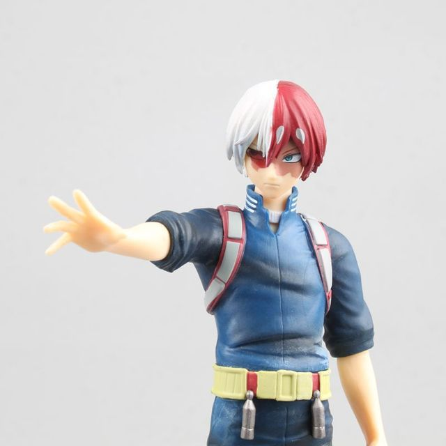 17cm Anime My Hero Academia Todoroki Shoto Figure PVC Action Figurine Collectible Model Decorations Doll Toys For Children