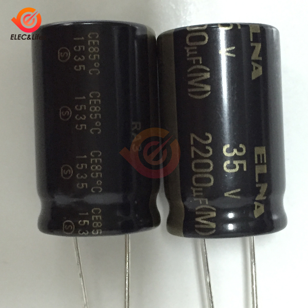 5Pcs/lot Original ELNA HiFi Audio Capacitor RA3 35V 2200μF Capacitance 16*25mm Aluminum Electrolytic Capacitor 35V2200μF