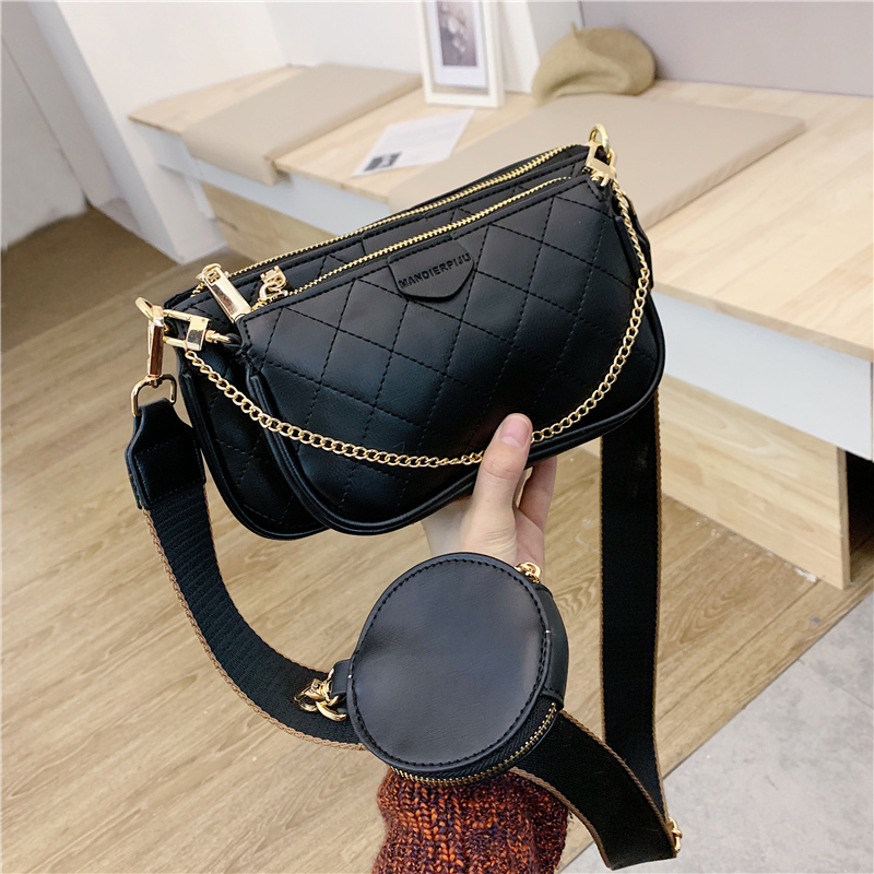 3 pcs set Designer Brand Women Bags Leather Handbags 2019 Luxury Female Crossbody Bag Purse Women Shoulder Bags Bolsa