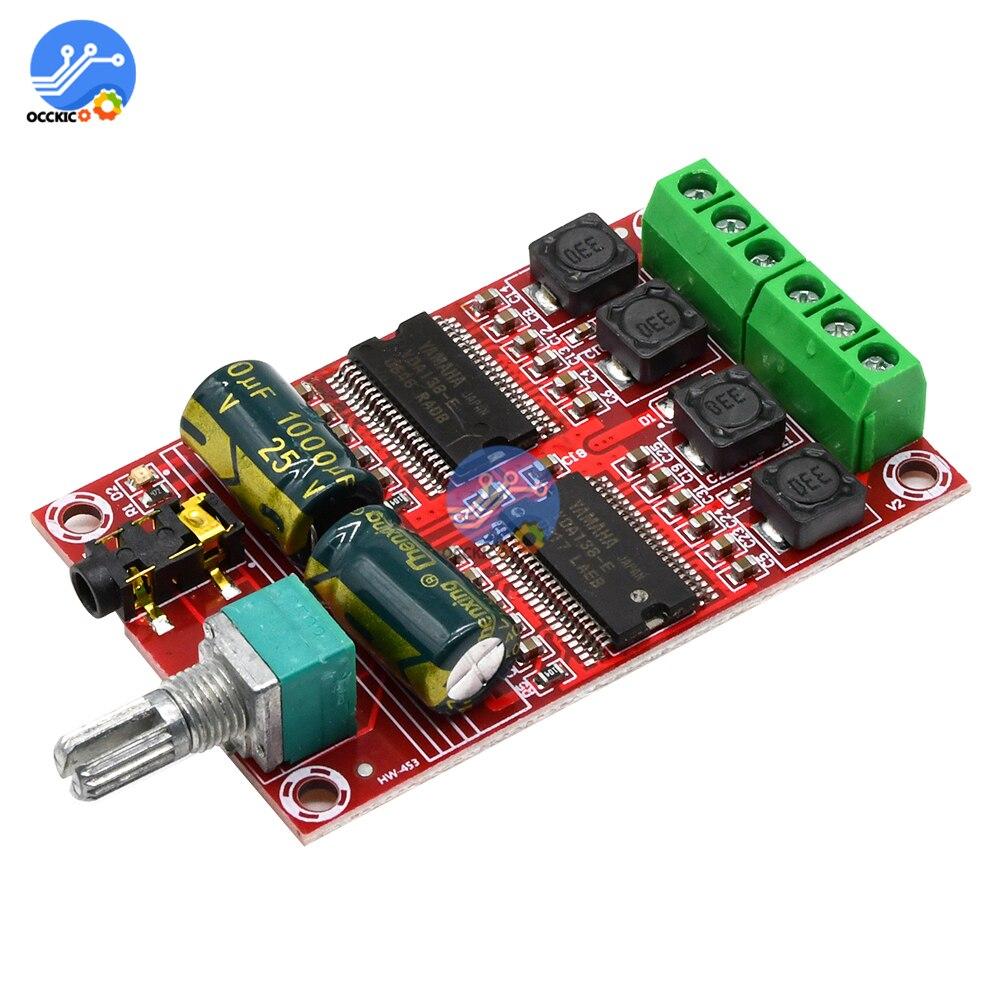 YDA138-E Amplifier Board Class D 2*20W Digital HIFI Stereo Power AMP Sound Board Subwoofer DIY Kit XH-M531