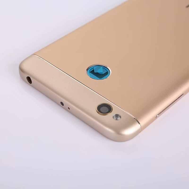 Ban Đầu Nhà Ở Cho Xiaomi Redmi 4X Kim Loại Lưng Pin Điện Thoại Di Động Cho Redmi4X Thay Thế Phần Ốp Lưng