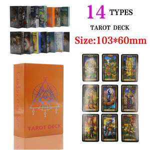Magical tarot deck English edition mysterious tarot Board Game family party cards game (9 styles to choose)(China)