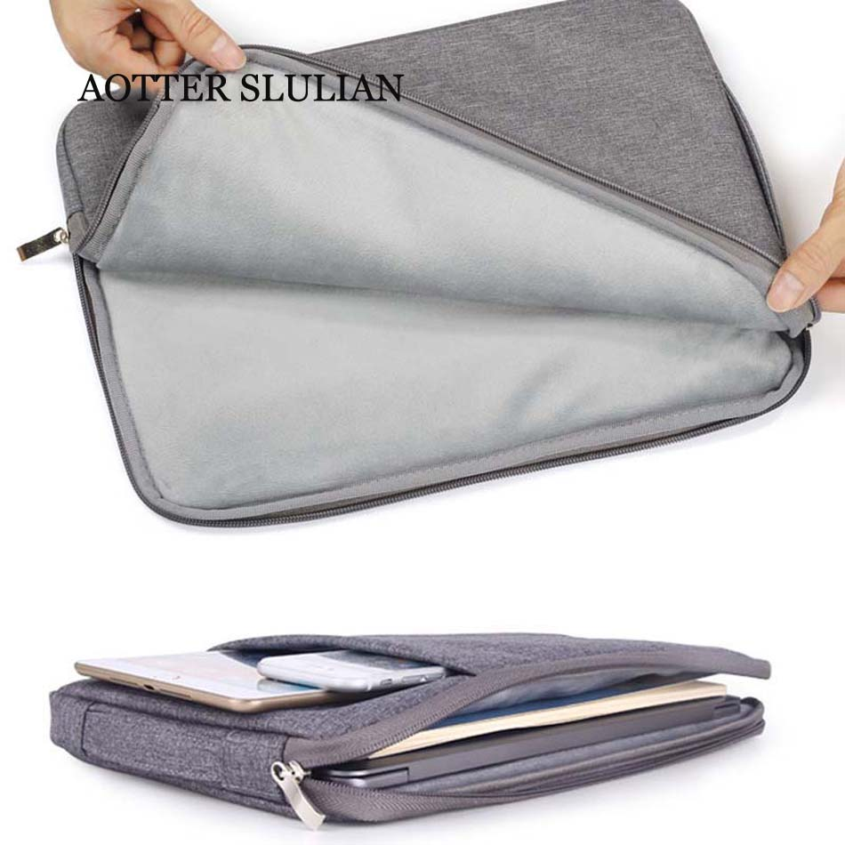 New Sleeve Bag Laptop Case For Macbook Air Pro Retina 11 12 15.6 13 15 A2179 2020 For XiaoMi Huawei HP Dell Notebook Shell Cover