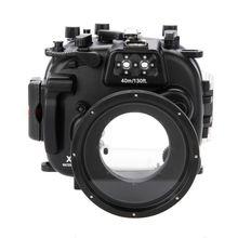 עבור Fujifilm Fuji X T1 XT1 + 18 55 PP239 Meikon Waterproof מתחת למים צלילה צלילה מצלמה שיכון מקרה