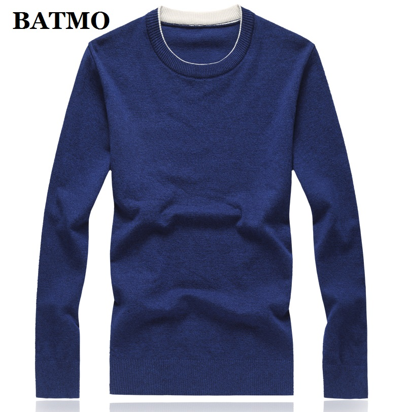 BATMO 2019 New Arrival Autumn High Quality Casual Sweater Men,men's Sweater,plus-size M-8XL  8 Colors