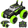 New 1:18 Electric RC Car 360 Degree 2.4G Telescopic 4WD Off-Road RC Stunt Car 360 Rotate With LED Light Radio Vehicles Toys Kid