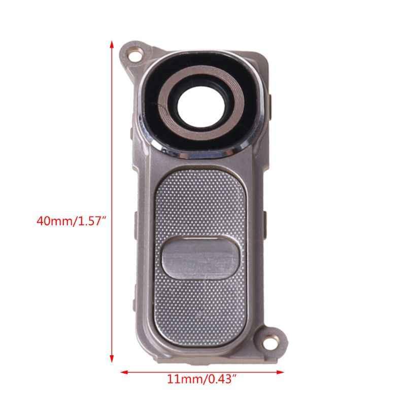 Ücretsiz kargo arka kamera kılıfı cam Lens için LG G4 H810 H811 H815 VS986 LS991 arka kamera cam çerçeve yüksek kalite