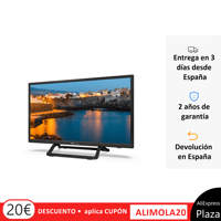 TVs smart TV 24 Inch TD Systems K24DLX9HS [Ship from Spain, 2 year warranty] HbbTV, 2x HDMI, TDT HD.