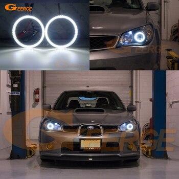 Excellent smd led Angel Eyes kit halo rings Ultra bright illumination DRL Subaru Impreza WRX STI 2006 2007 turbo for subaru impreza wrx sti ej20 ej25 2 0l max power 450hp td05 20g td05 20g 8 td05 20g turbocharger gaskets pipe fitting