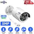 Hiseeu 5MP POE IP аудио Камера домашней безопасности H265 видео Камеры Скрытого видеонаблюдения Камера ONVIF Открытый Водонепроницаемый IP66 для видеон...