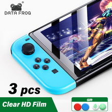 DATA FROG Protective Tempered Glass For Nintendo Switch NS 9H Hardness Screen Protector Film For Nintendo Switch Accessories