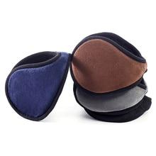 Protector Earmuffs Earbags Ear-Cover Earflap Winter Keep-Warm Plush Fashion Back-Wearing-Style
