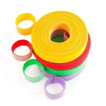 1.5*500cm pair colorful velcros adhesive sticker hook and loop fastener color tape cable ties sewing accessories 1meter pair 20mm width colorful adhesive hook and loop fastener tape the hooks sewing on strips magic tape diy accessories