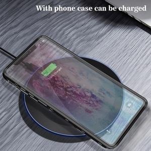 Image 3 - SHELLBOX Custodia Impermeabile Per Samsung Galaxy Note10 Più S10 Antiurto Caso Della Copertura Trasparente Per Samsung Note 10 Pro Cassa Del Telefono coque