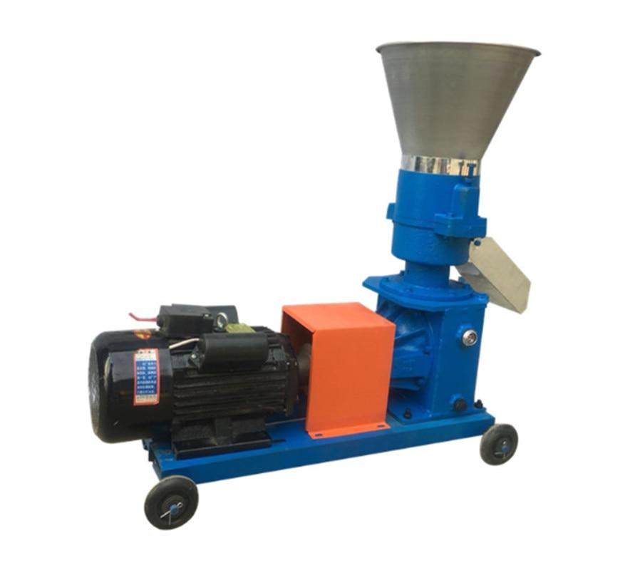 220V/ 380V KL-150 Pellet Mill Multi-function Feed Food Pellet Making Machine Household Animal Feed Granulator  100kg/h-120kg/h