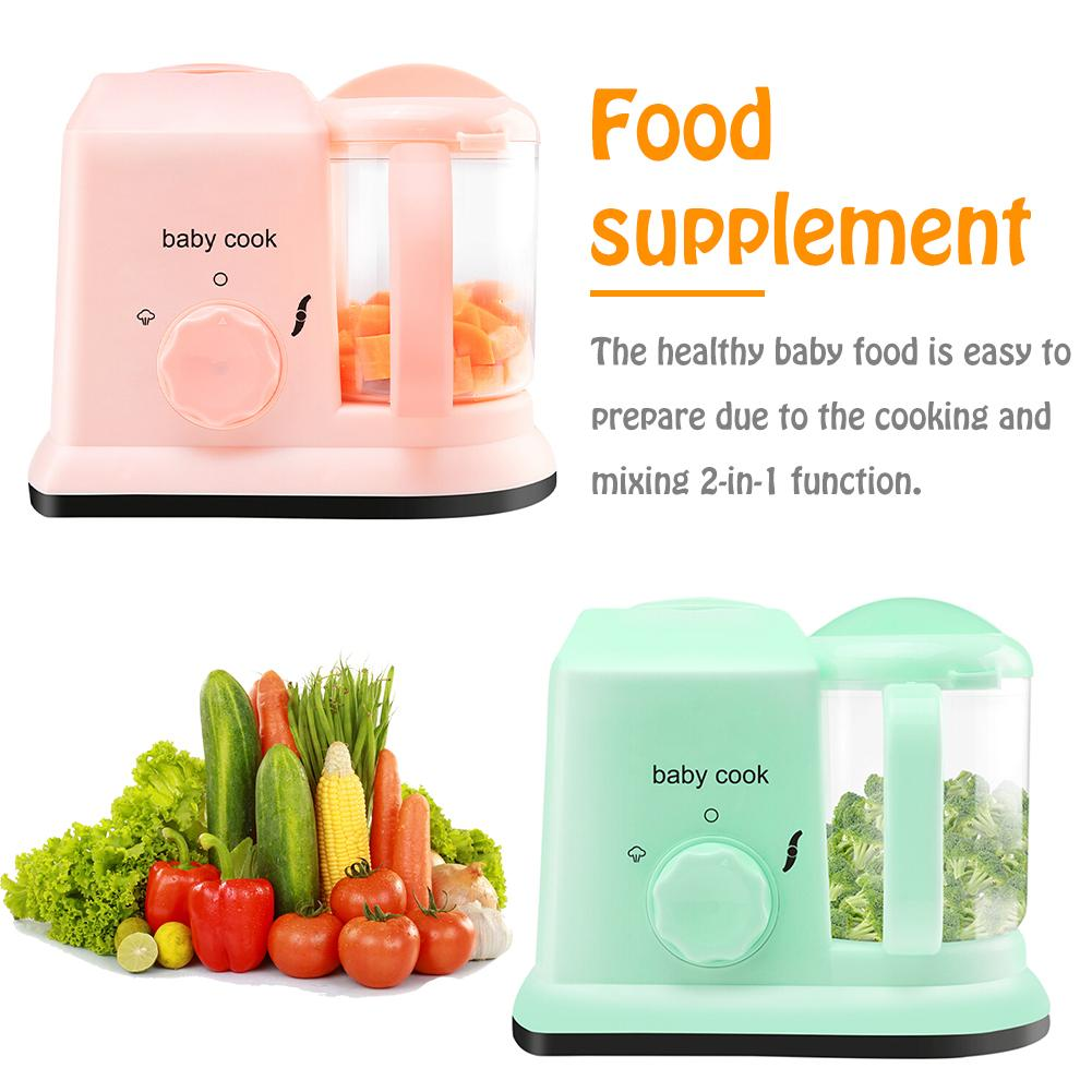 5 in 1 Baby Food Maker Processor With Steam Cooker Maker Defroster Heating Disinfection Multi functional Food Processor For Baby