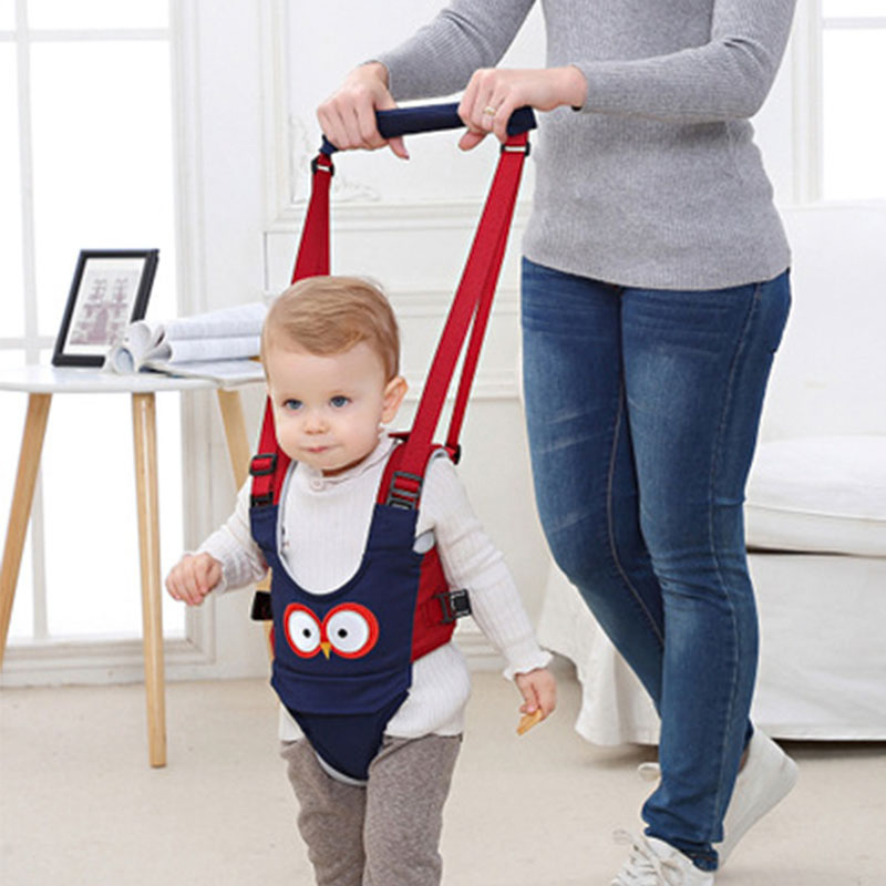 6-24M Toddler Baby Harness Walking Assistant Learning Walk Safety Belt Harness Walker Wings Kid Boy Girl Leashes Baby Harness