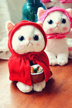Японская кавайная накидка игрушка в виде кота милая мягкая кукла