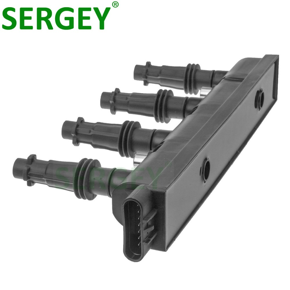 High Quality Ignition Coil Pack 55577898 55573735 55575499 <font><b>55579072</b></font> For CHEVROLET SONIC OPEL ASTRA CORSA VAUXHALL 1.2L image