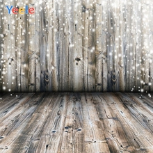 Yeele Christmas Backdrop Wood Board Brokeh Newborn Baby Portrait Photography Background For Photo Studio Photocall Photophone