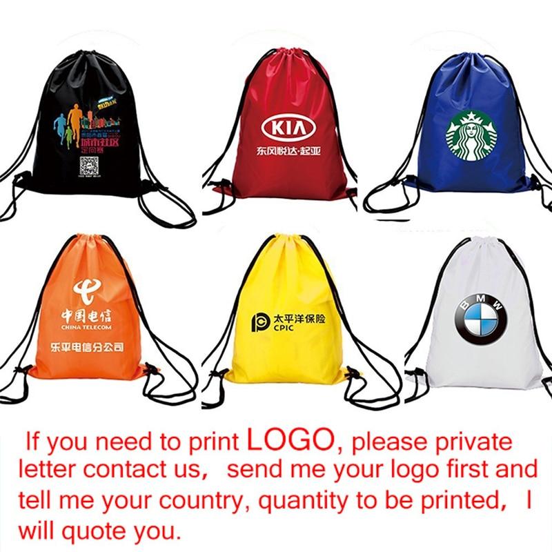 Zackpack Sports Drawstring Backpack Custom Logo Waterproof Bundle Pocket Drawstring Backpack Print Custom in Drawstring Bags from Luggage Bags