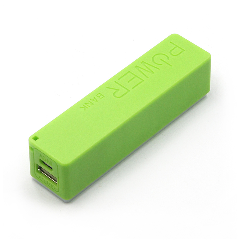 Power Bank 18650 External Backup Battery Charger With Key Chain USB Charging Mobile Phones for Cell Phone Portable 3