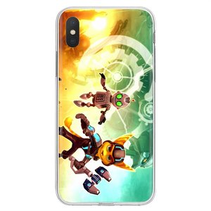 Трещотка & Clank Insomniac Games Art Для Xiaomi mi a1 A2 A3 5X6X8 9t Lite SE Pro mi Max mi x 1 2 3 2S распродажа силиконовый чехол для телефона