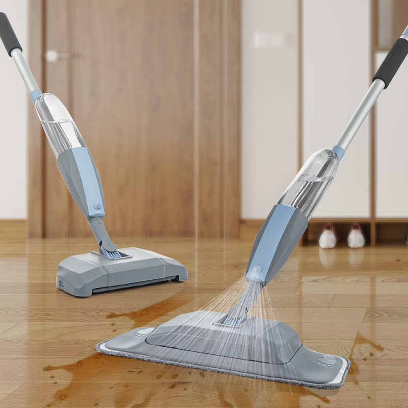 Floor Mop with spray, vacuum cleaner, Broom 3 B1 hand sweeper household cleaning mop lazy mop for washing floors