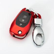 Чехол для ключей автомобиля из ТПУ с 3 кнопками для Chevrolet Cruze Spark Onix silverado, Volt Camaro Cruze Mai Rui Bao, набор ключей для автомобиля