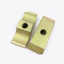Abrazadera de tubo de brazo de excavadora, clip de hierro, accesorios de excavadora para HITACHI ZX ZAX120 200 210 220 240-6-3G